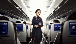 JetBlue crewmembers, uniforms