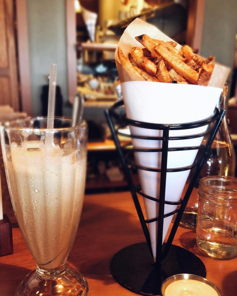 Duckfat Portland Maine Fries Milkshake