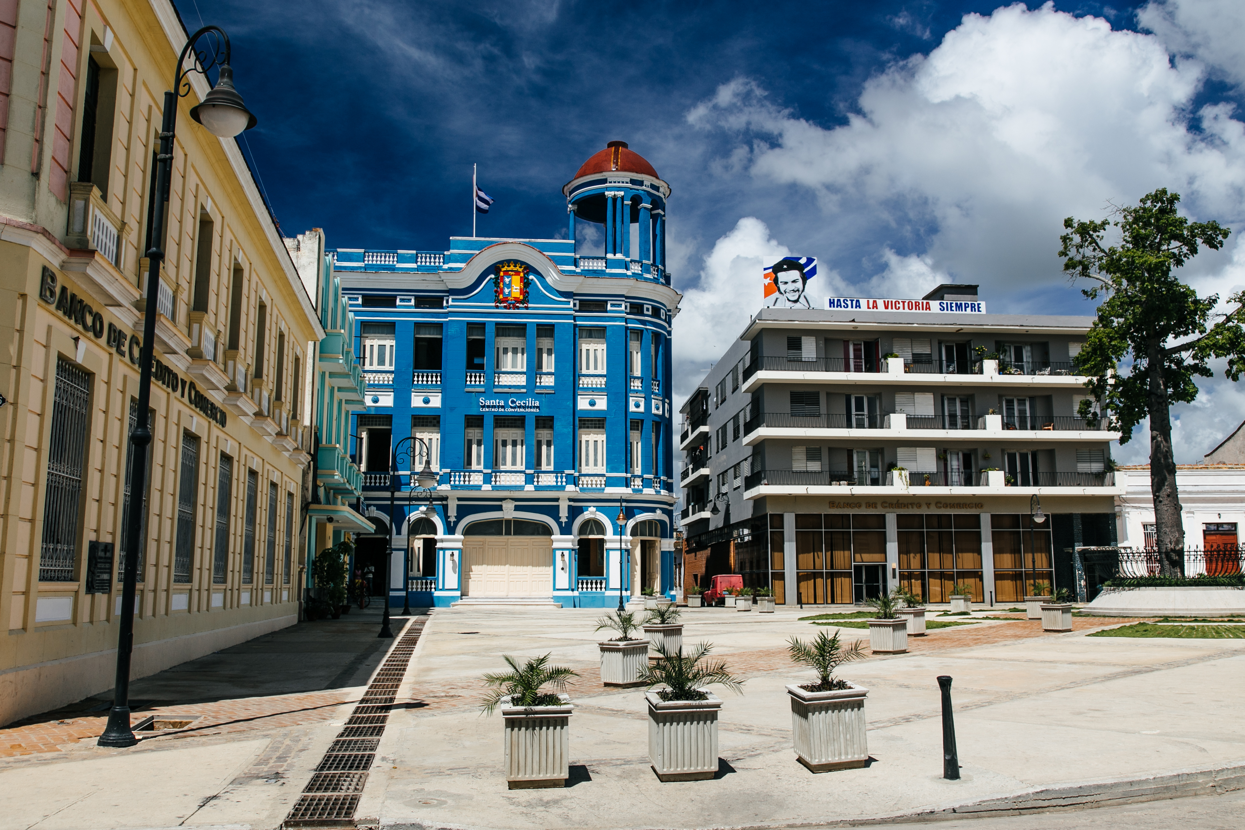 UNESCO World Heritage Centre Plaza in Camaguey, Cuba