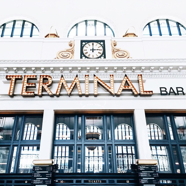 The Terminal Bar building in downtown Denver.