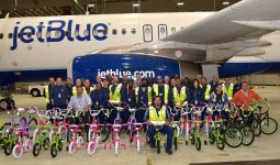 JetBlue For Good Bike Build