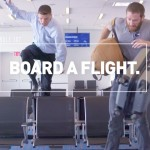 How not to board a flight