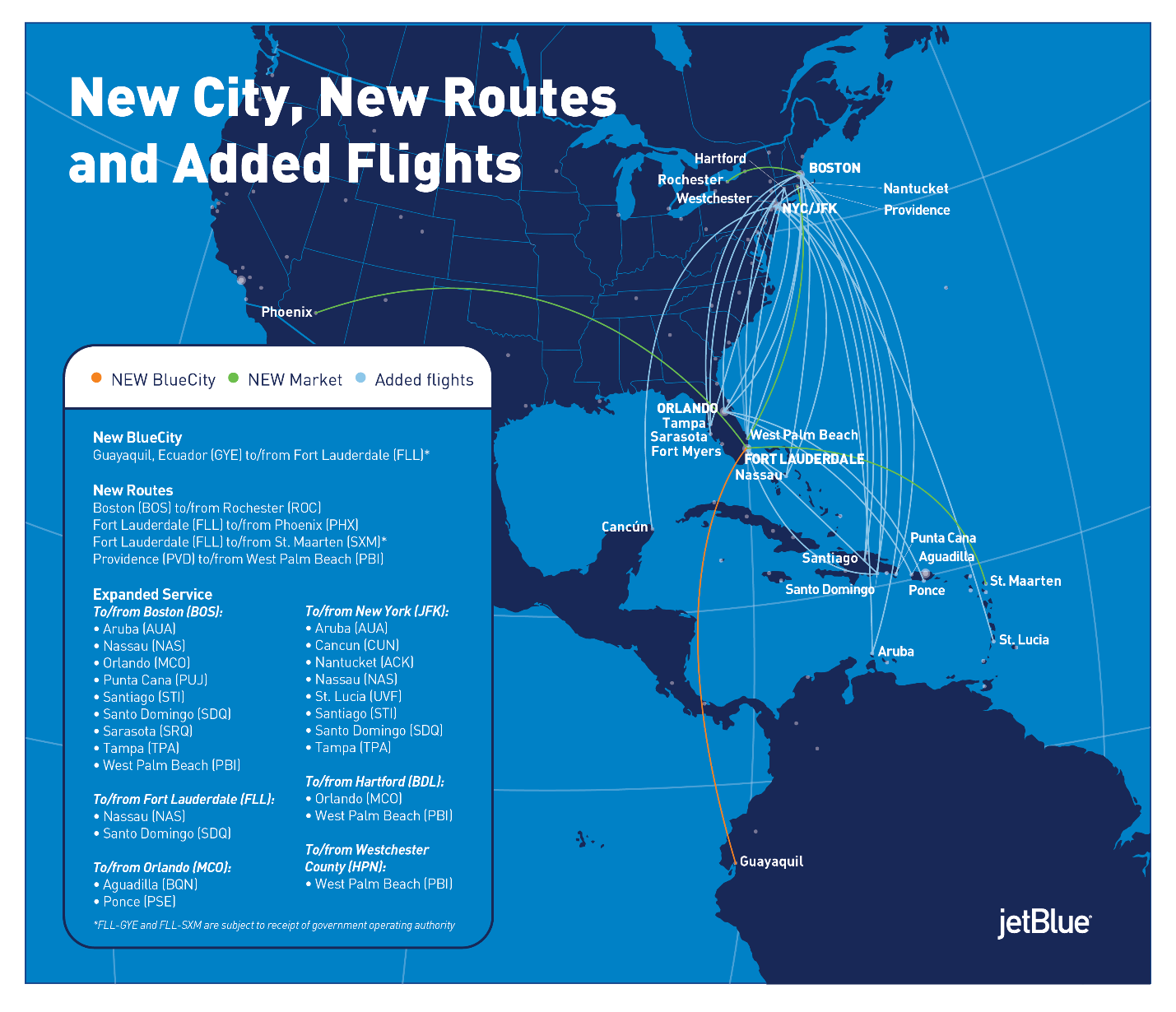 More Flights, More New Routes – Out of the Blue on united airlines flight routes 2011, lufthansa airlines route map, united airlines route structure, british airways route map, spirit airlines route map, skywest airlines route map, asia pacific airlines route map, delta caribbean route map, american airlines route map, cayman airways route map, northwest airlines route map, latin america and caribbean map, aa route map, united international route map, delta air lines route map, jetblue caribbean route map, allegiant airlines route map, continental airlines route map, united route map europe, united airlines international routes,